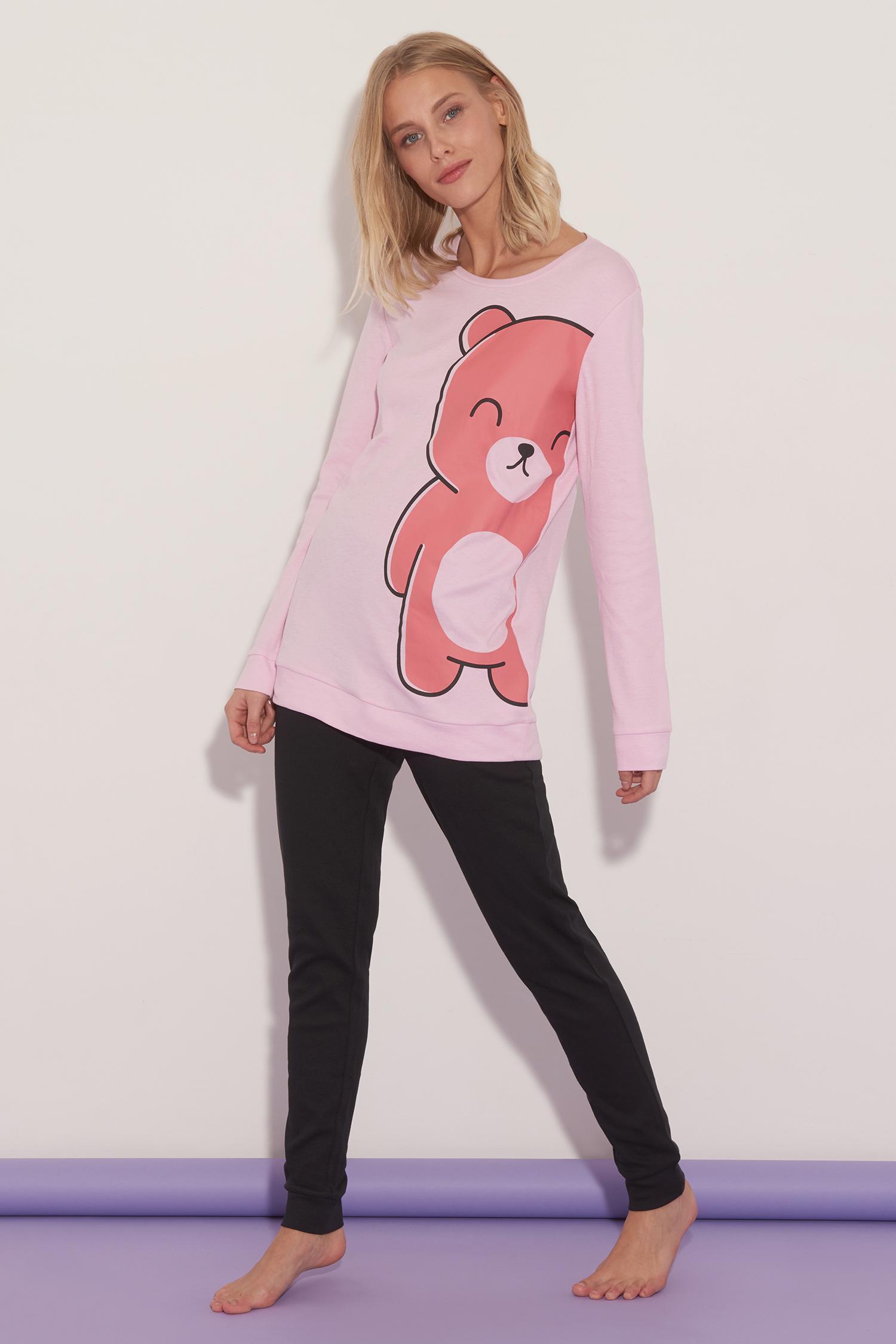 Pijama Largo Over Teddy