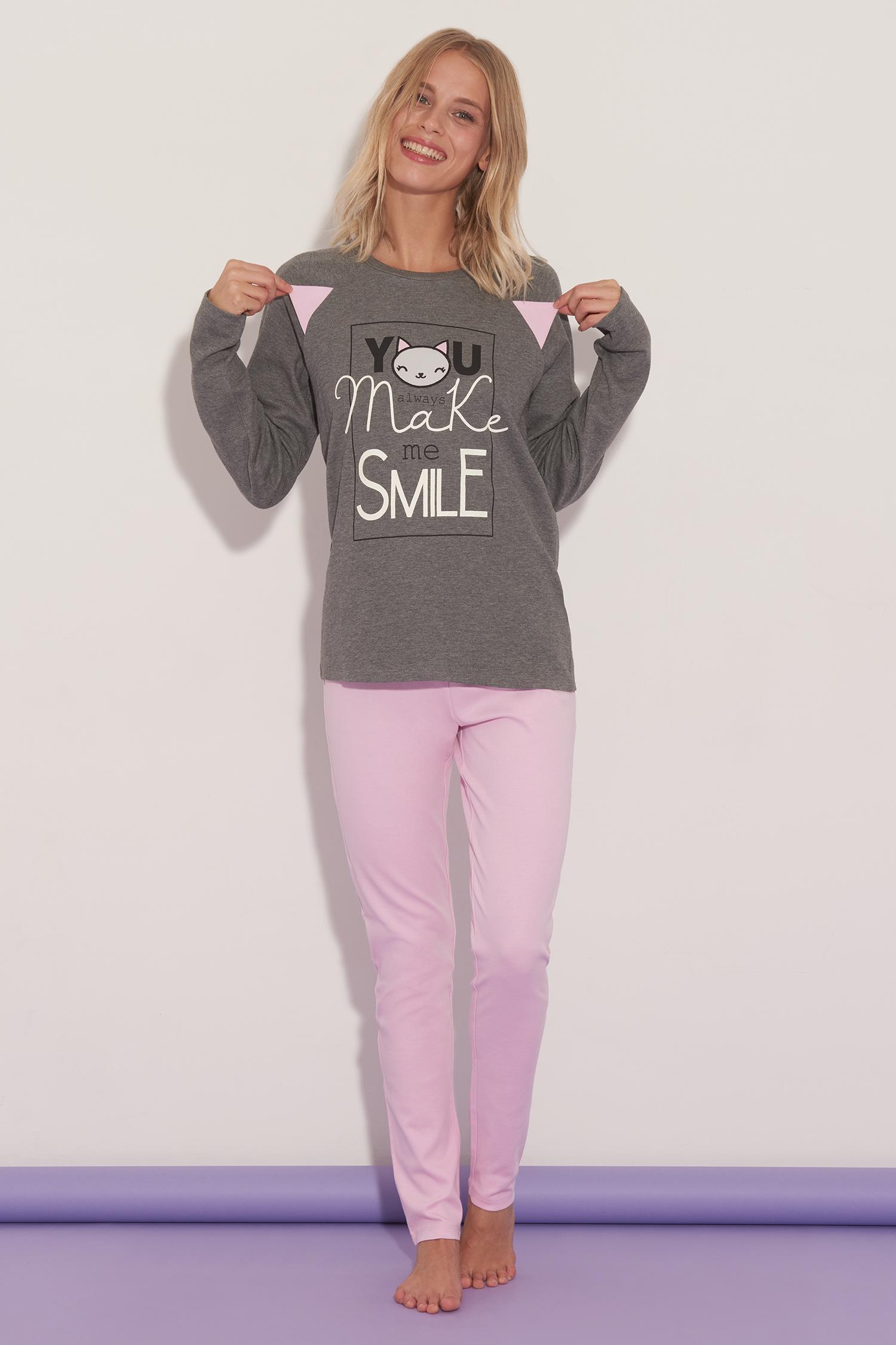 Pijama Largo You Always Make Me Smile