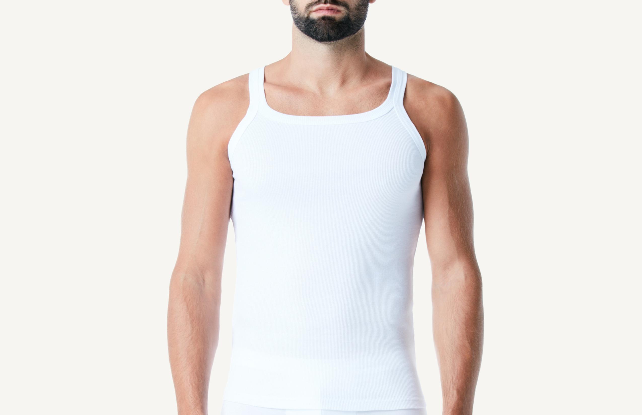 Intimissimi Ruder-Shirt Aus Feinripp-Baumwolle