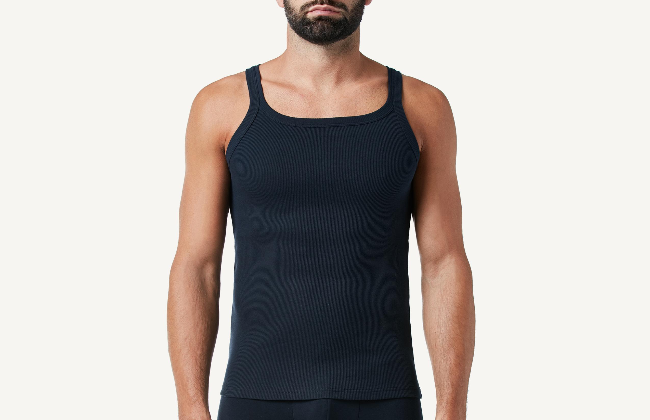 intimissimi - Ruder-Shirt aus Feinripp-Baumwolle
