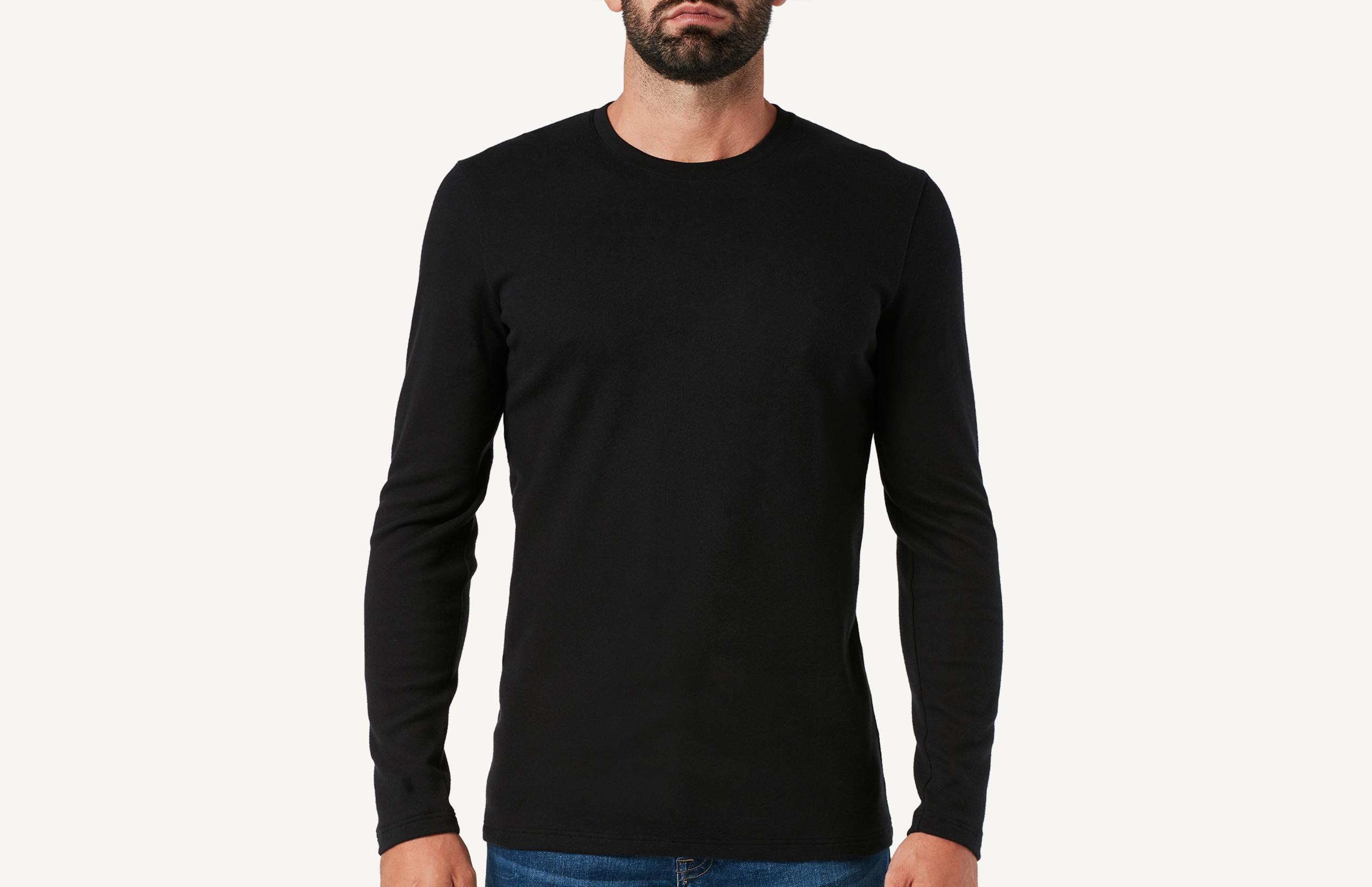 Intimissimi Langarm-Shirt Aus Warmer Baumwolle