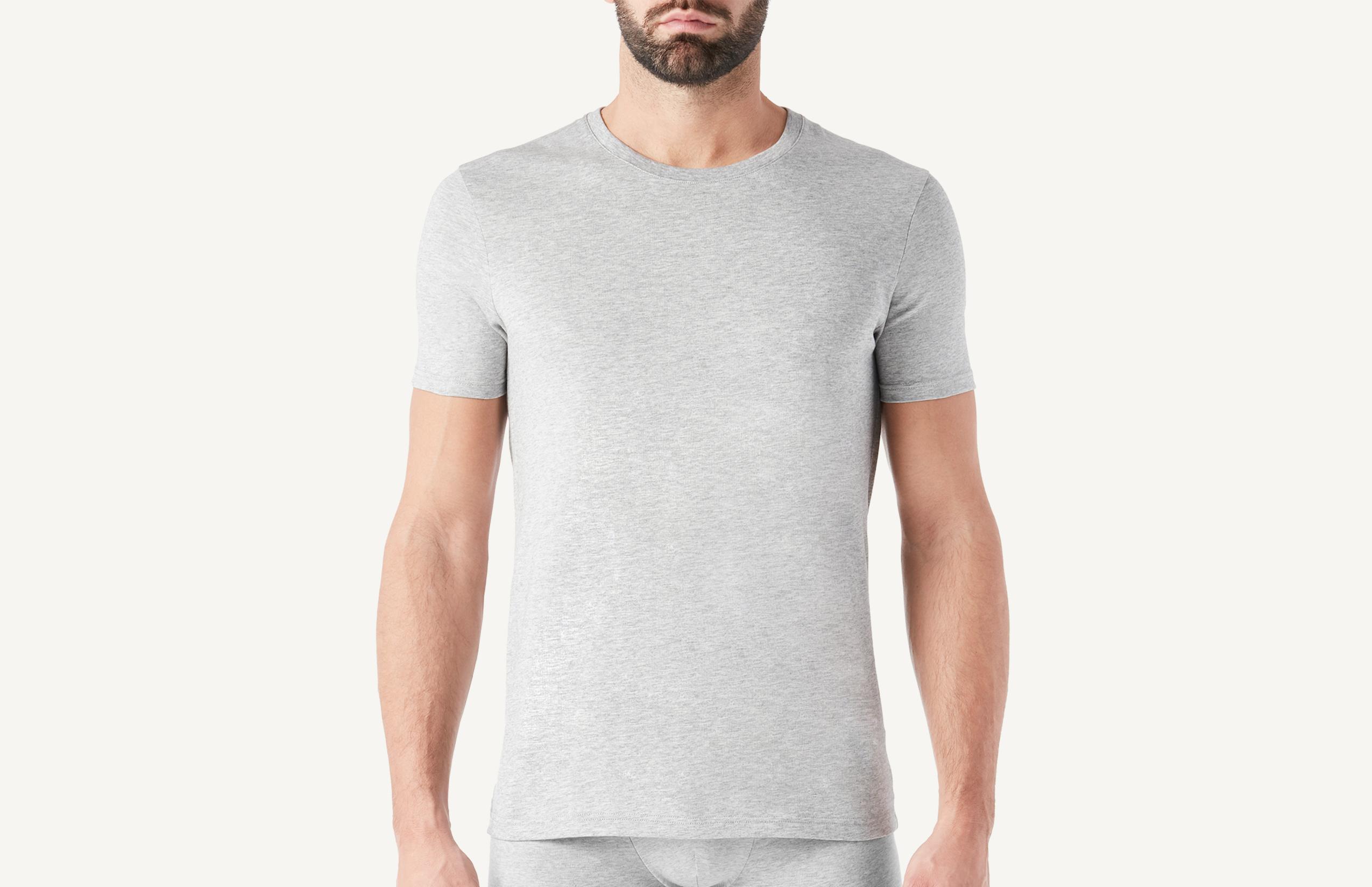 intimissimi - Kurzarm-T-Shirt mit Rundhalsausschnitt aus Supima®-Baumwolle