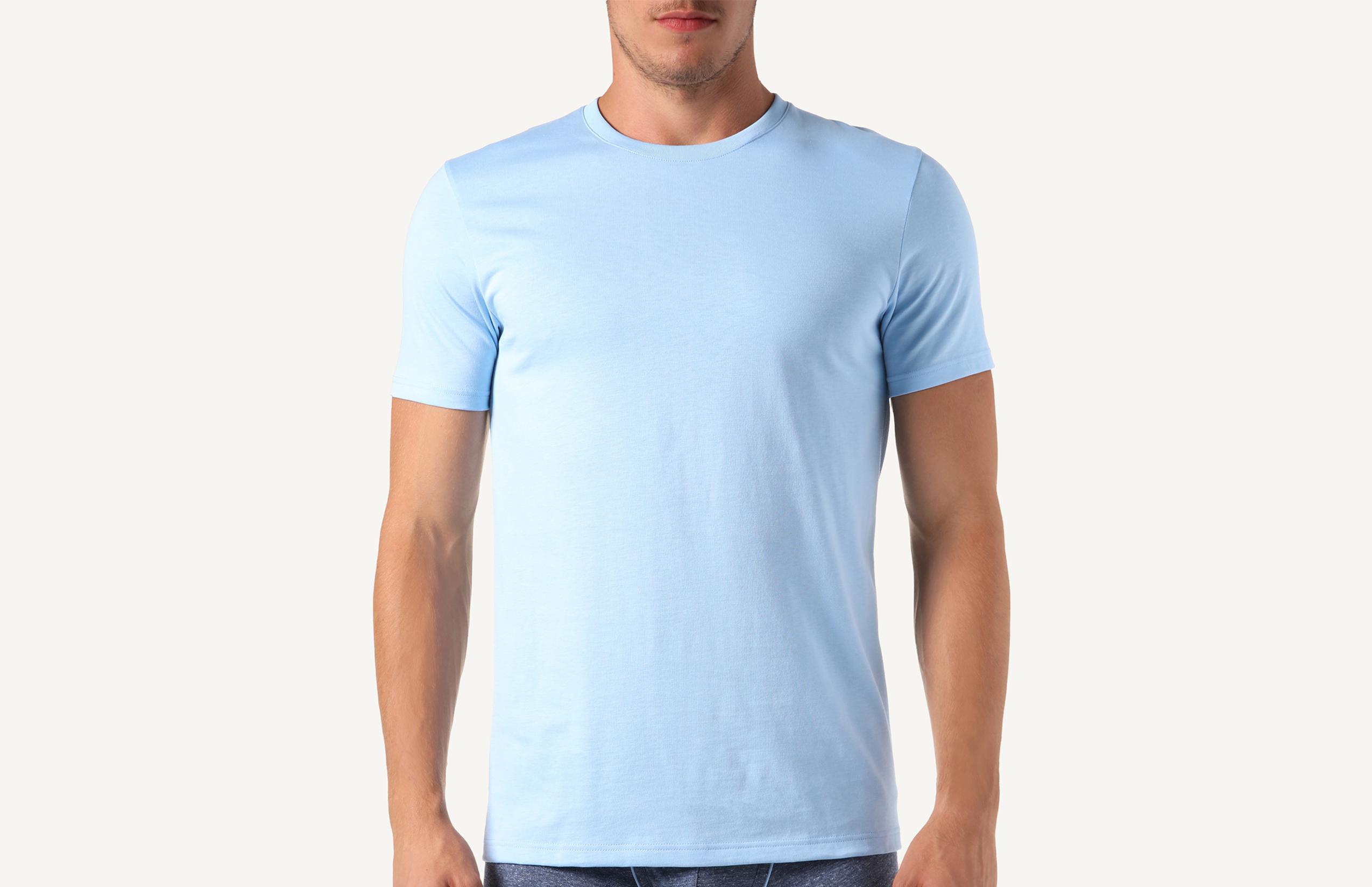 Intimissimi Kurzarm-T-Shirt Mit Rundhalsausschnitt Aus Supima®-Baumwolle