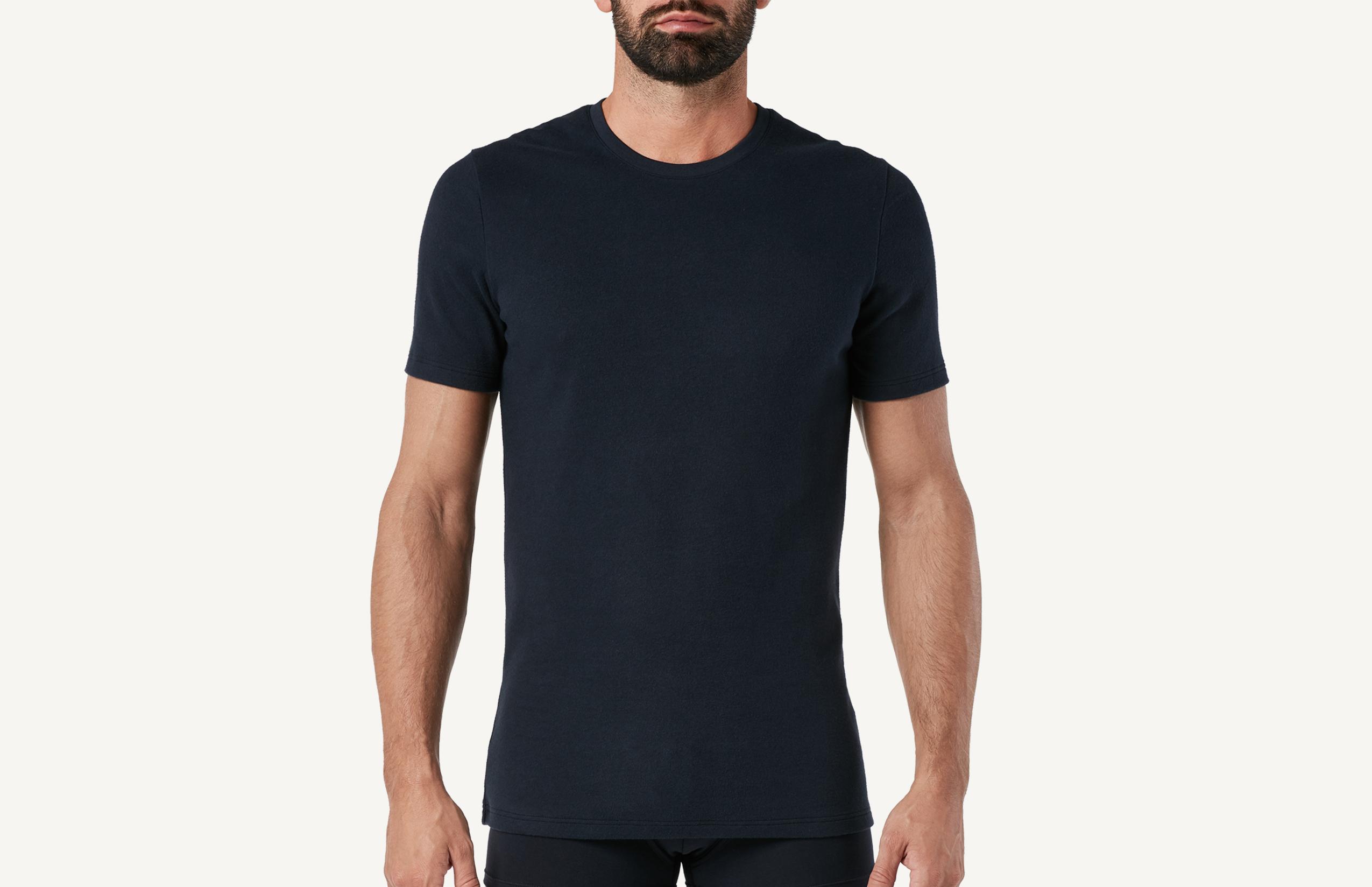 intimissimi - Kurzarm-Shirt aus Warmer Baumwolle