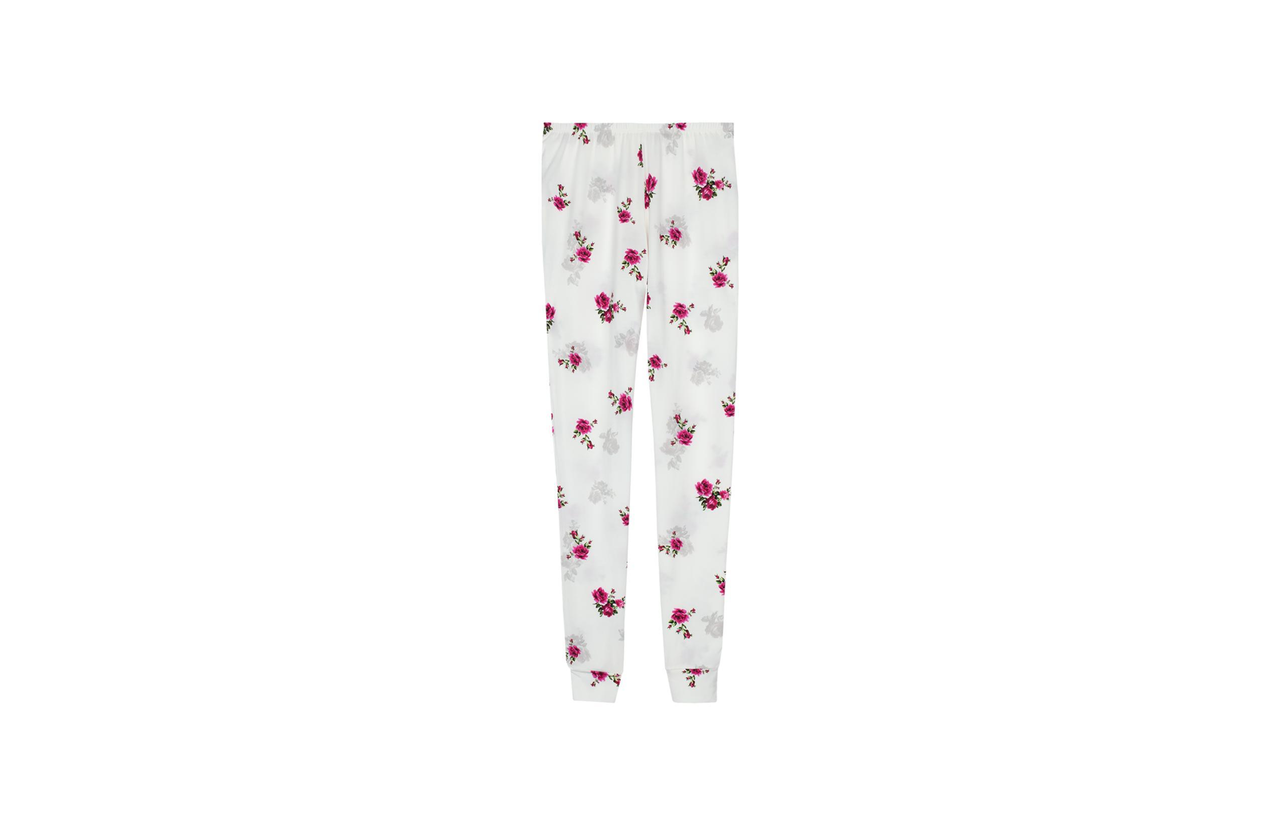 intimissimi - Lange Hose aus Mikromodal Print Rose Degradè