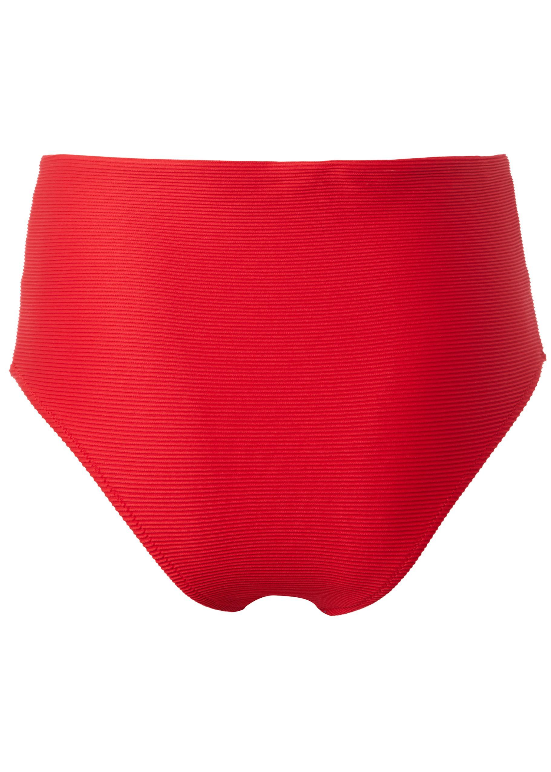 prezzo Bikini Slip Alto Righe Rilievo Ester in offerta