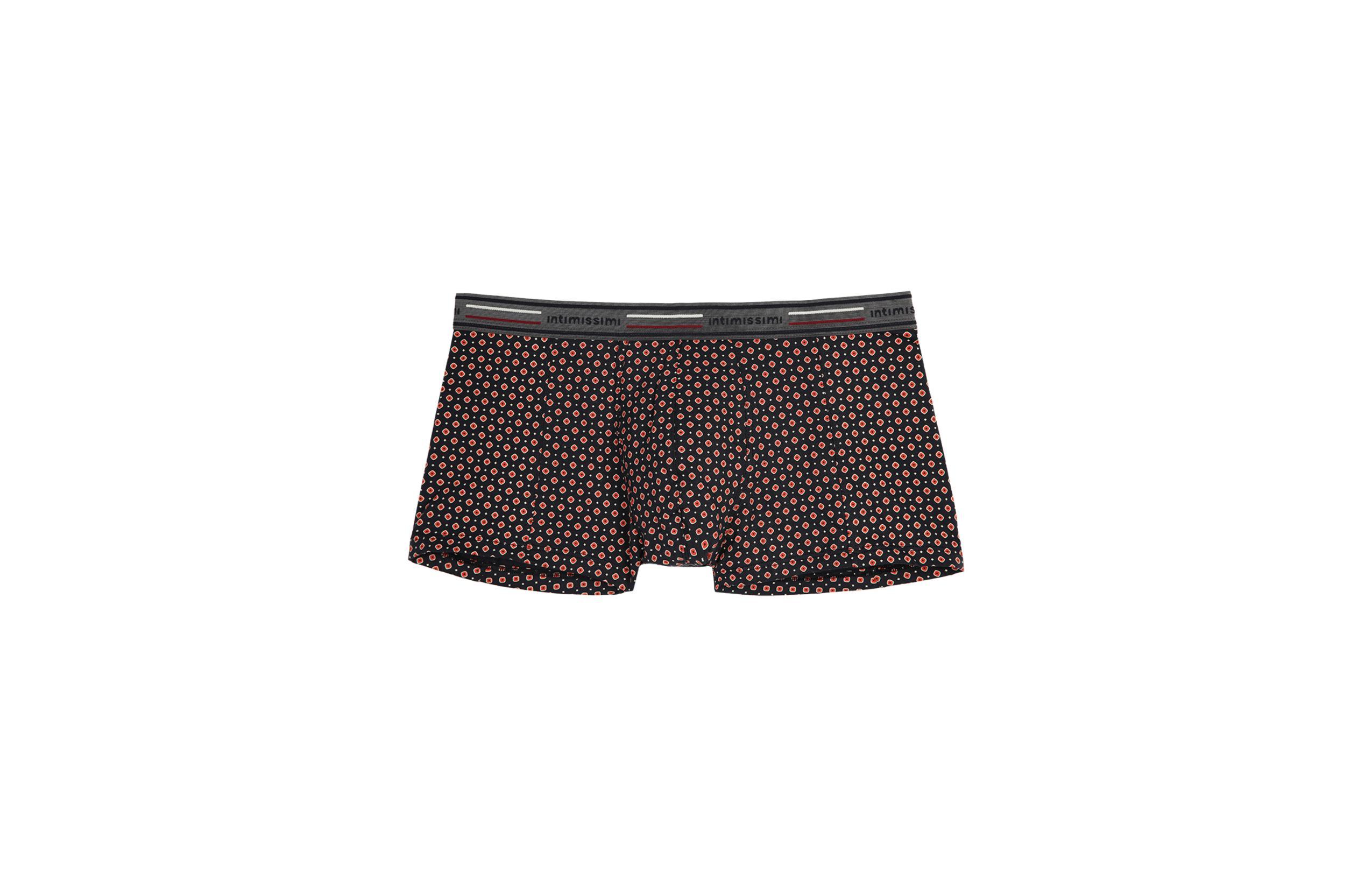 intimissimi - Boxershorts Stretch-Baumwolle mit Krawatten-Print