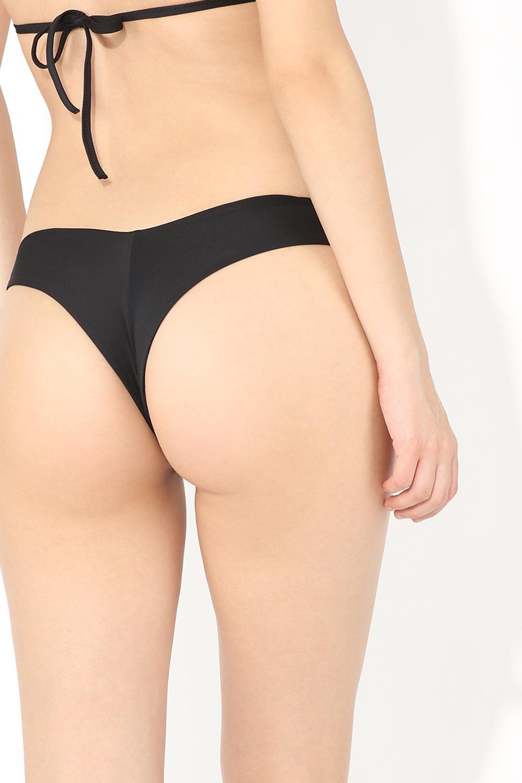 High-Leg Brazilian Bikini Bottoms