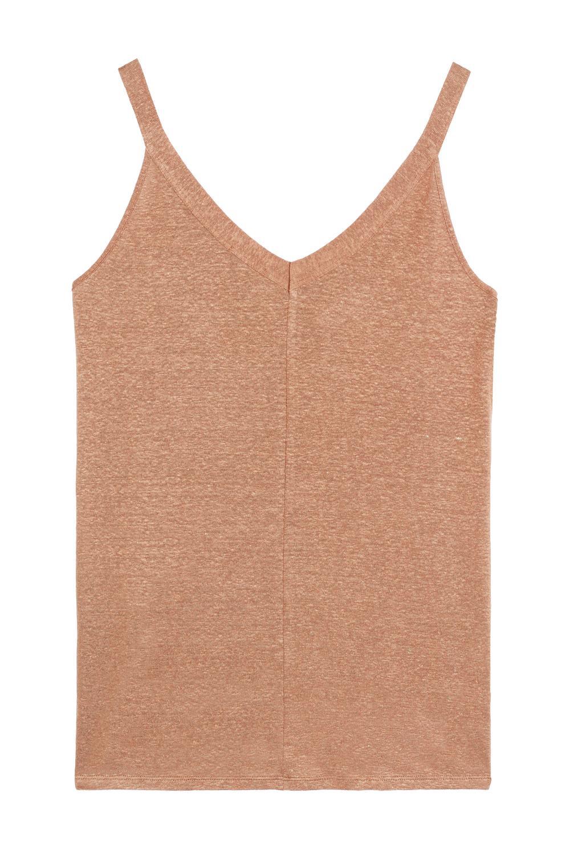 Maxi Linen Camisole