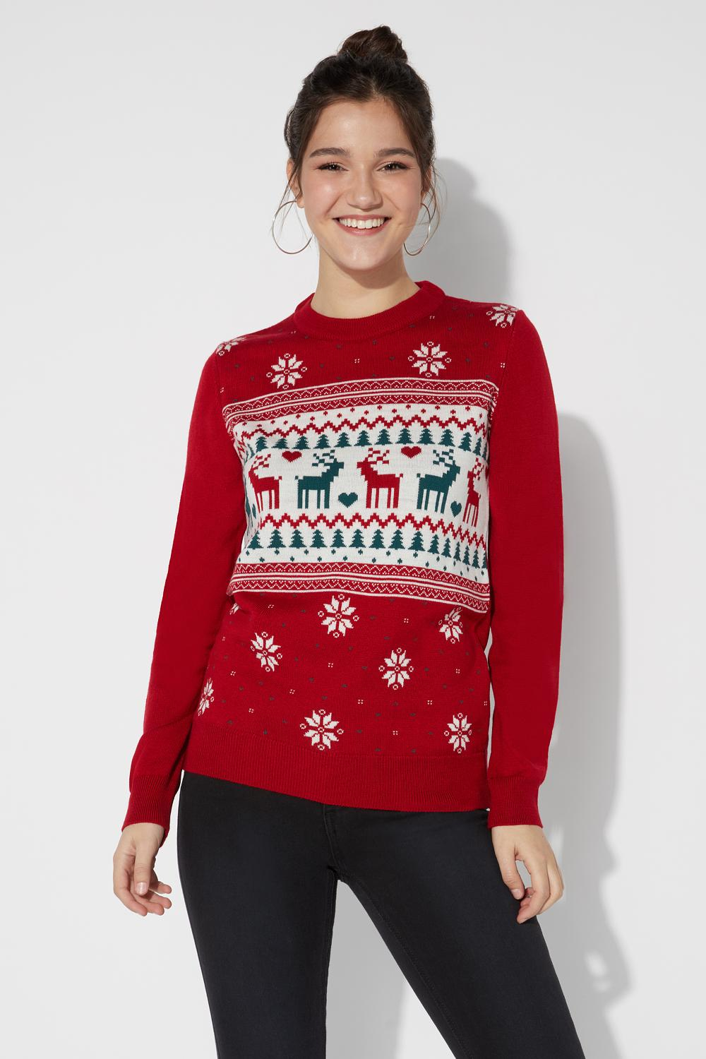 Knitted Christmas Sweater