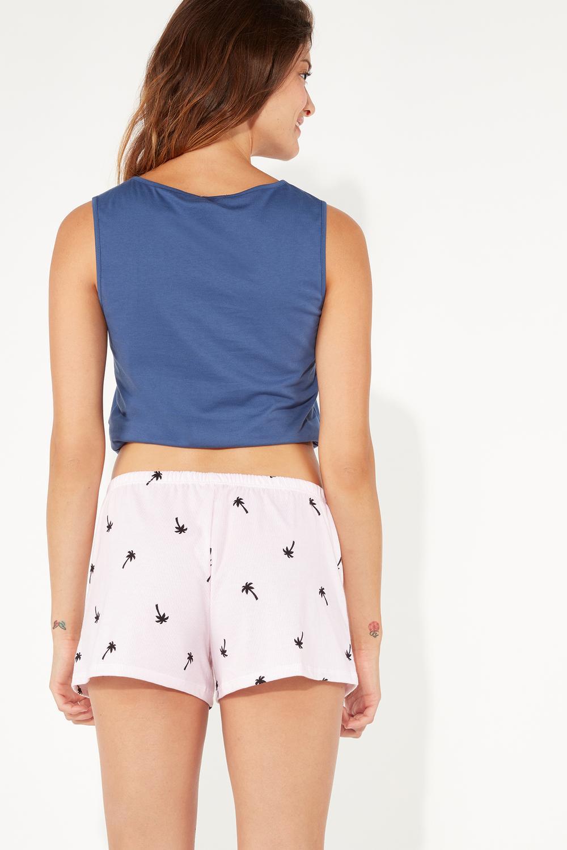 Summer-print Pajamas