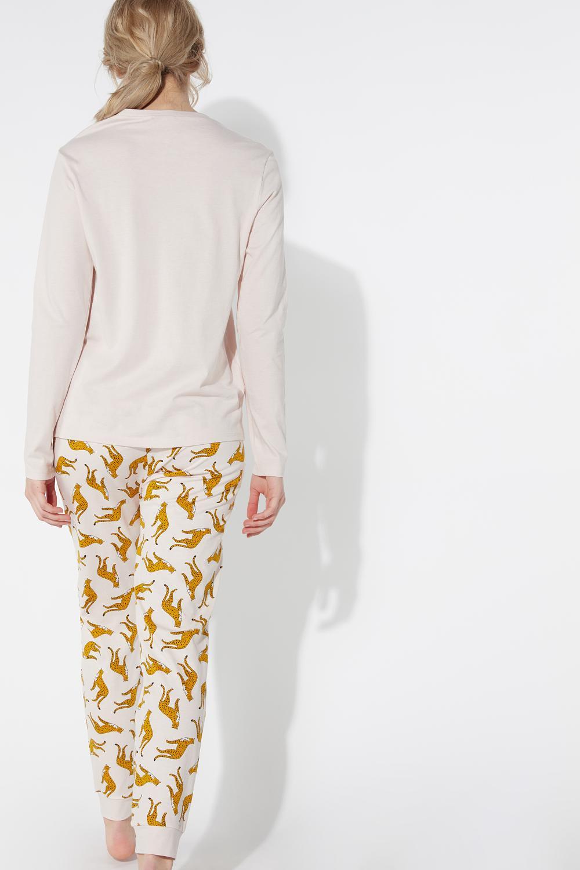 Long Savage Print Pyjamas