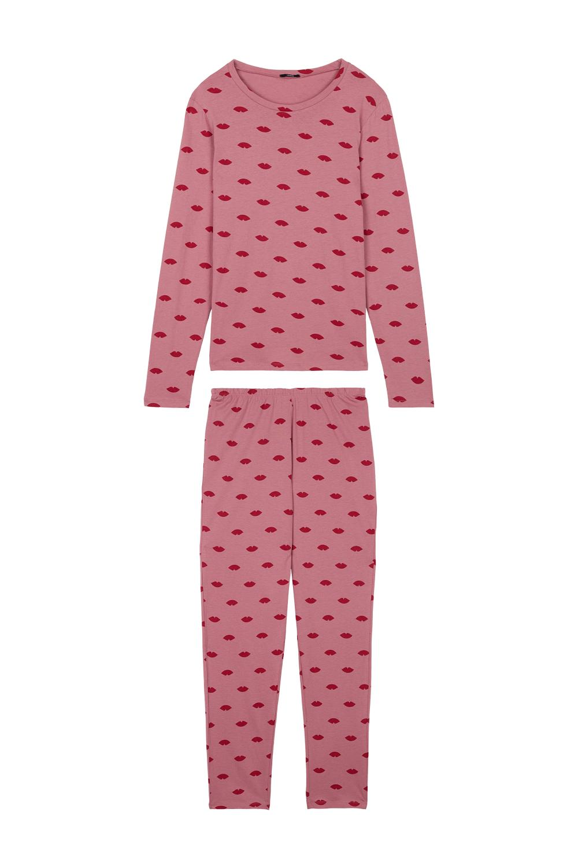 Long Lips Print Pyjamas