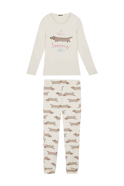 Pijamas Compridos Dachshund