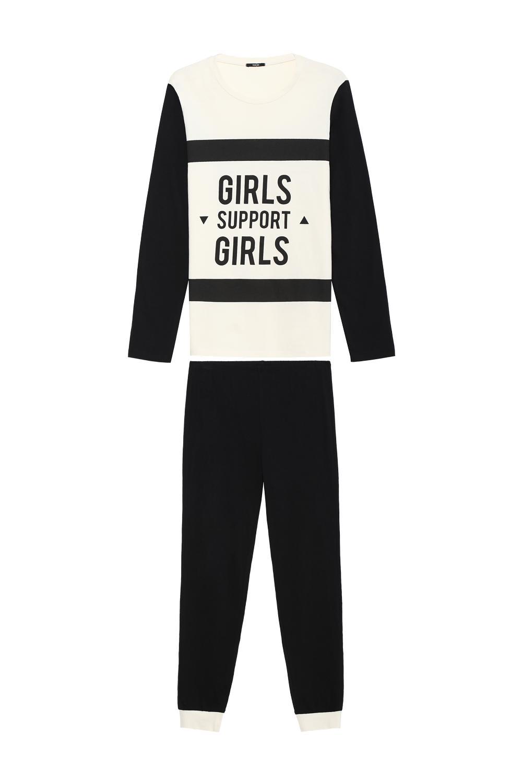 Pijama Largo Girls Support
