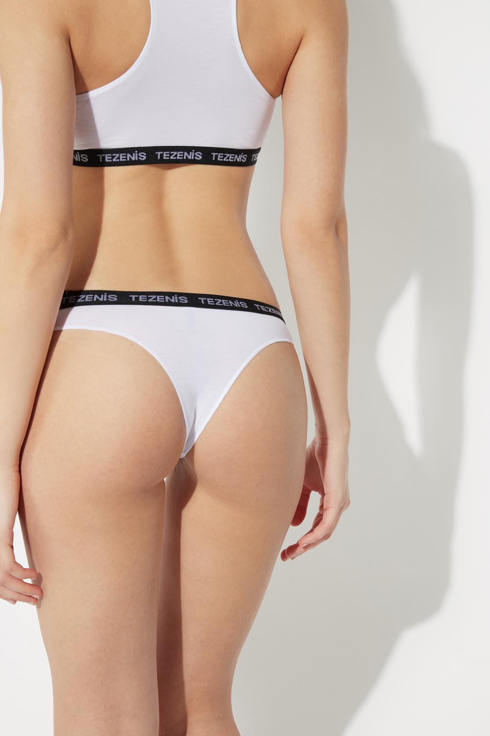 Natural Cotton Brazilian Brief