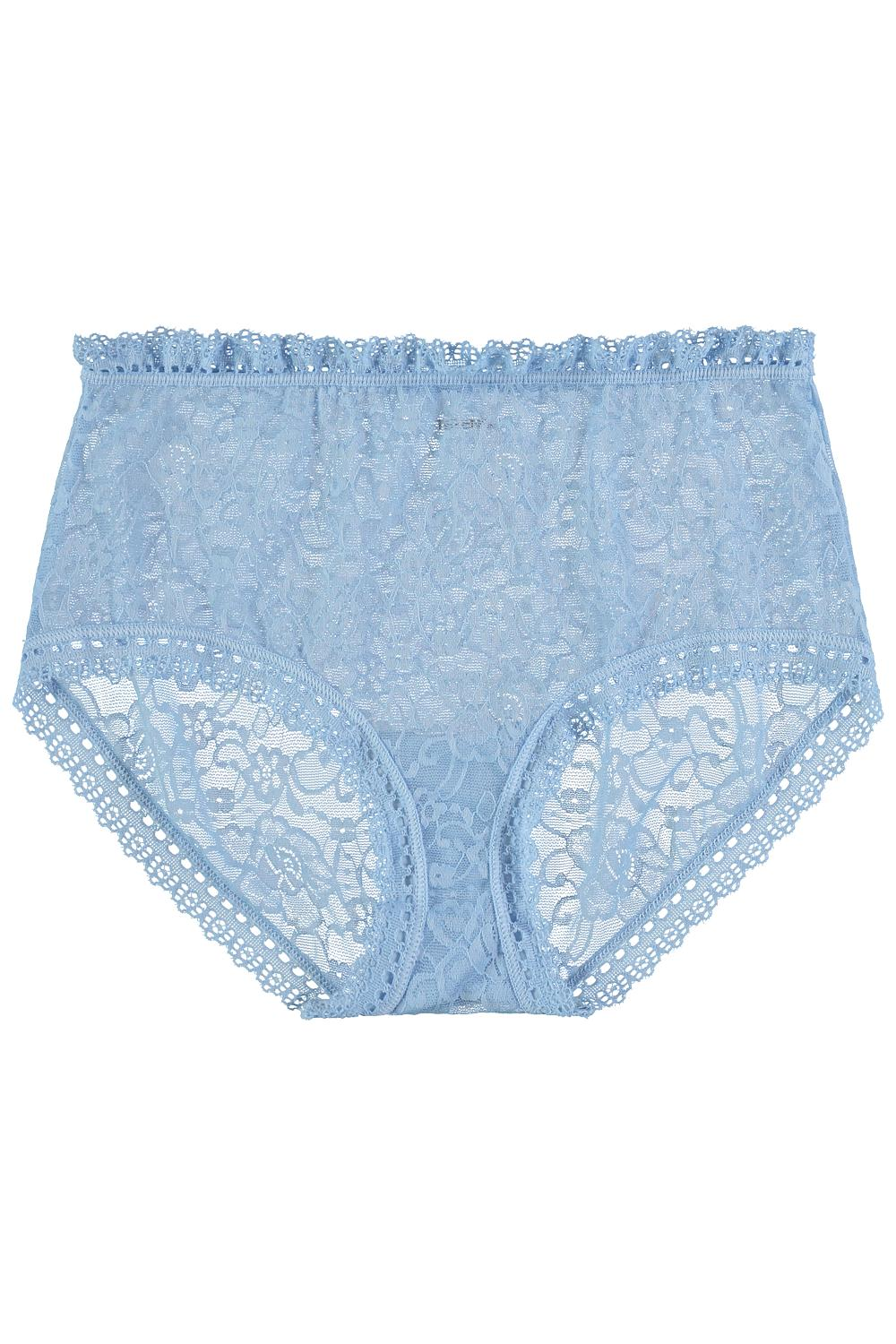 High-Waisted Panties in Lace