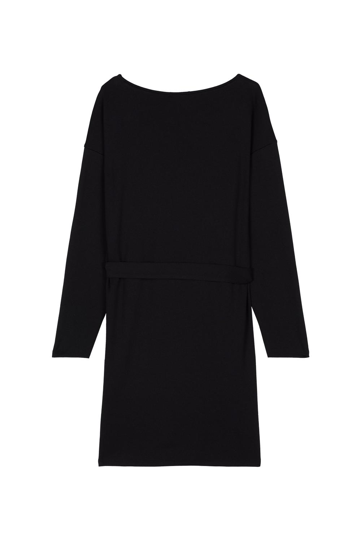 Milano Stitch Dress with Sash