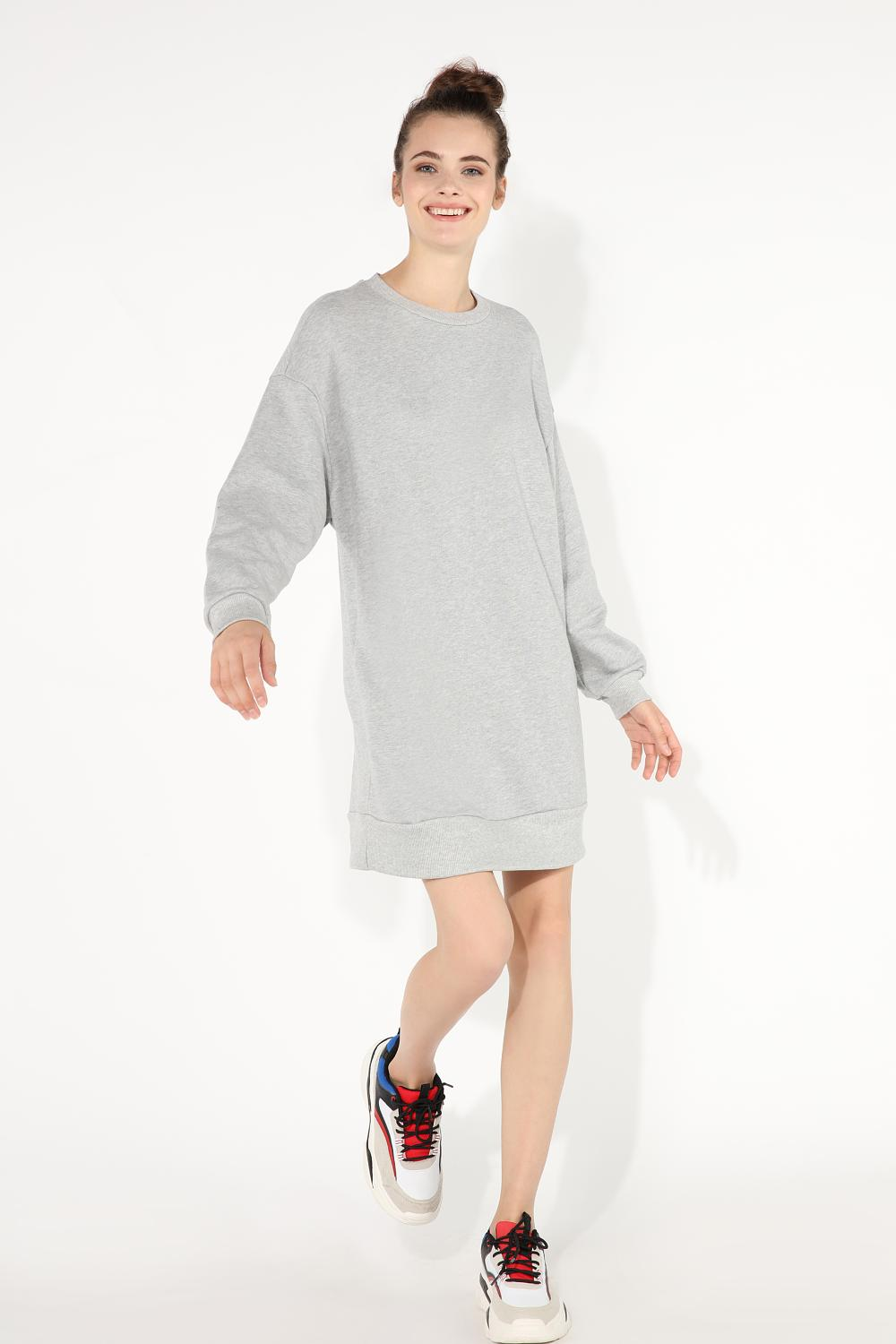 Oversized Sweatshirt Dress