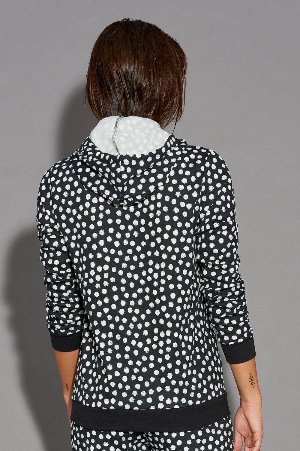 Long-Sleeve Top with Zip