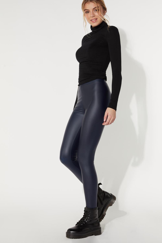 Leatherette Leggings