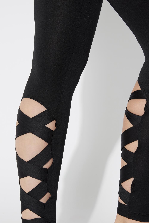 Sporty Criss-Cross Leggings