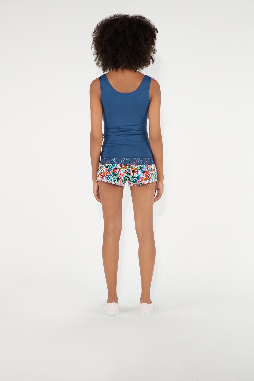Shorts in Felpa Stampata
