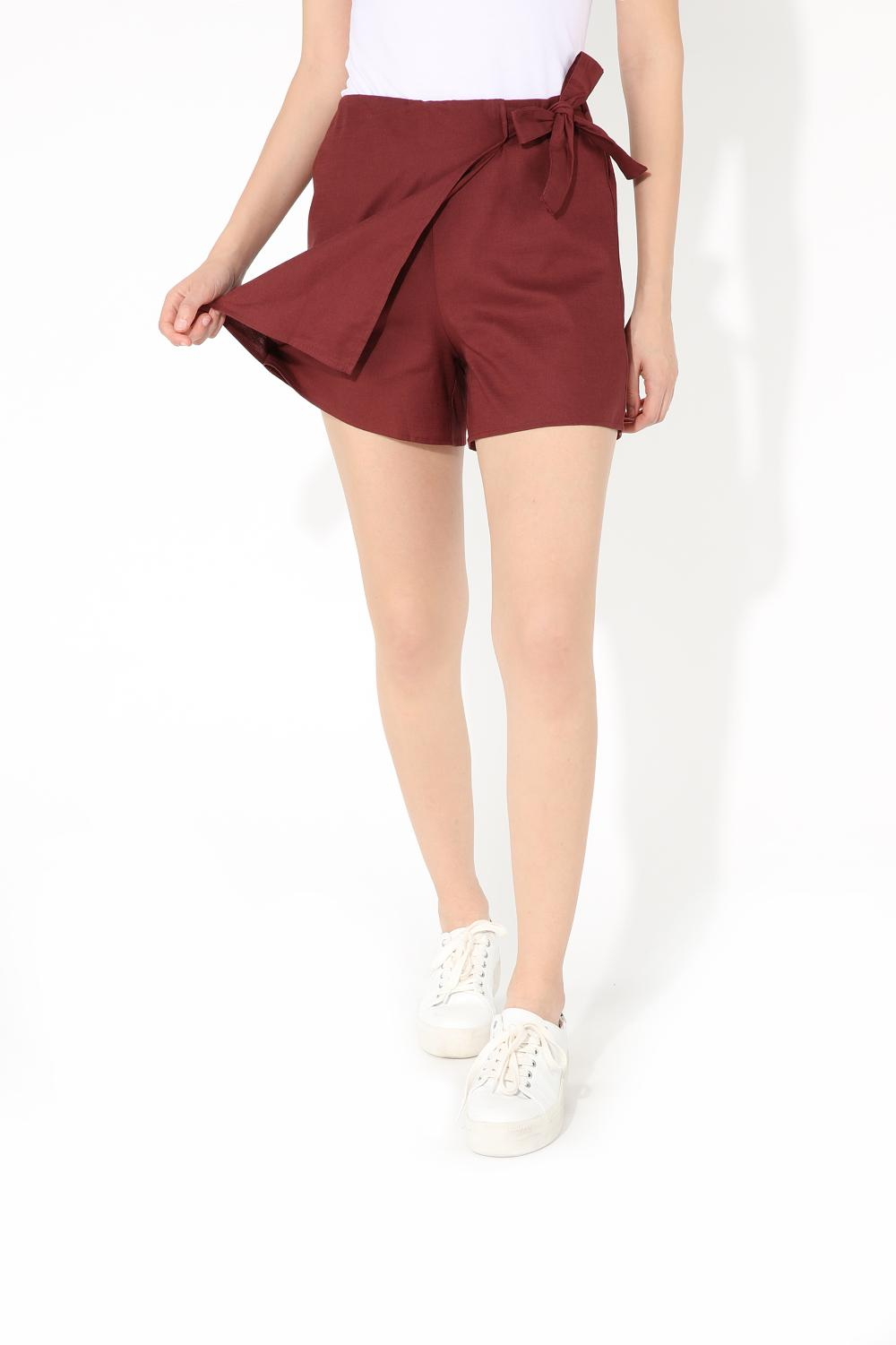 Vintage Bow Tie Shorts
