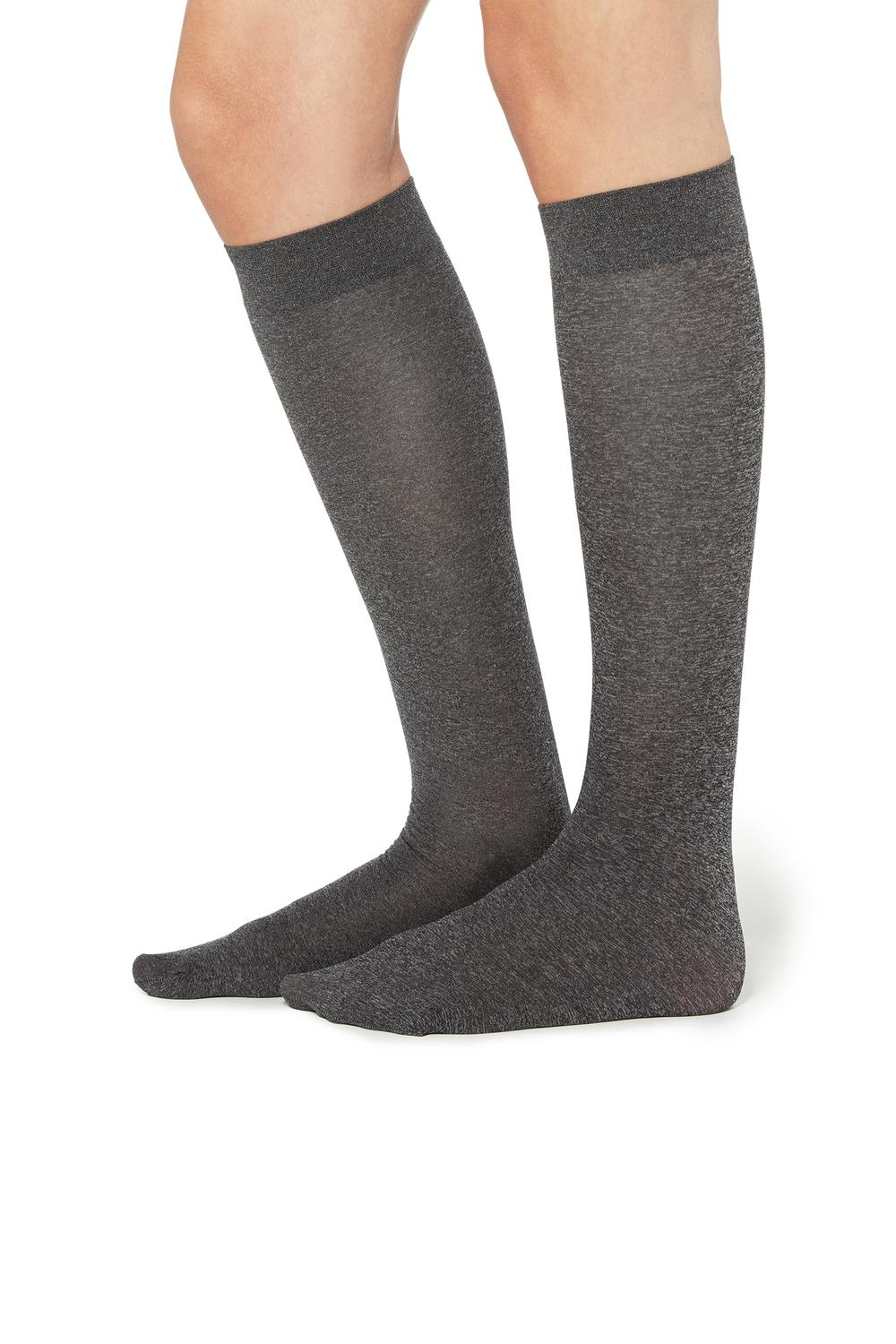 2 X 50 Den Microfibre Knee-Highs