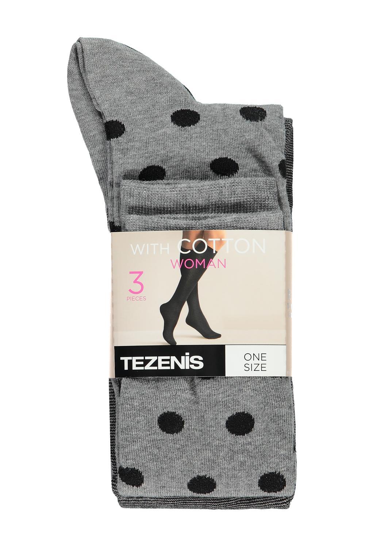 3 X Long Lightweight Cotton Socks