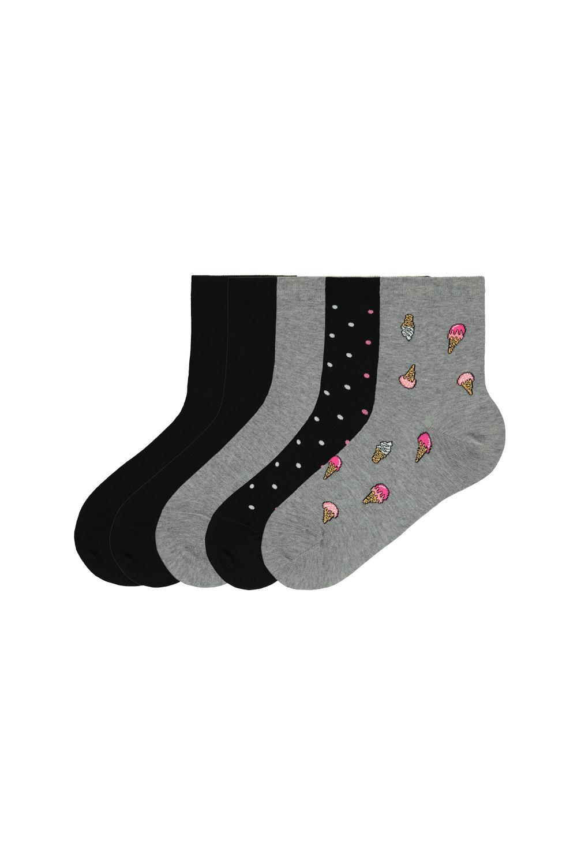 5 x Bavlněné Ponožky Fantasia