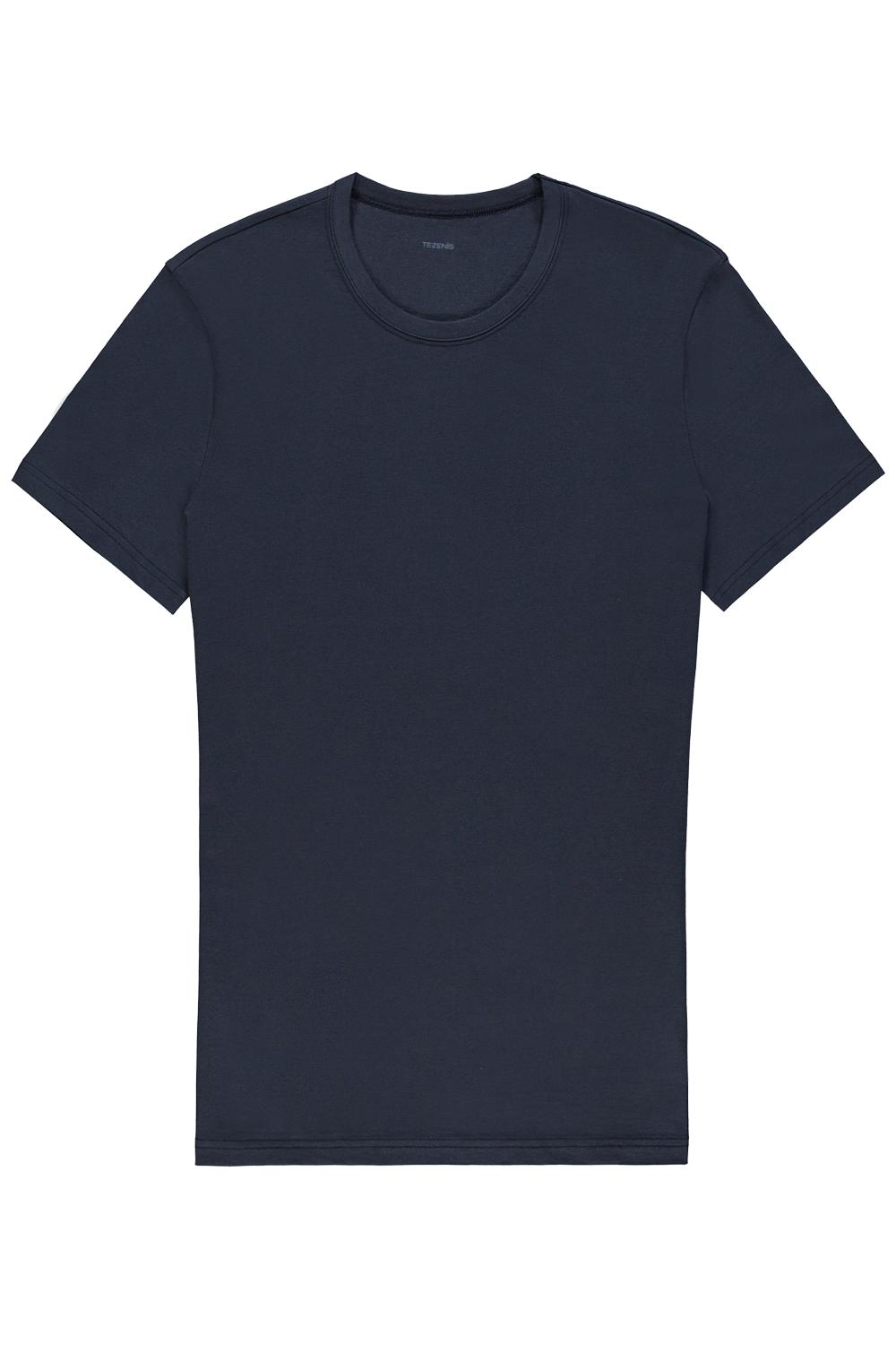 Short-Sleeve Round-Neck Cotton-Jersey T-shirt