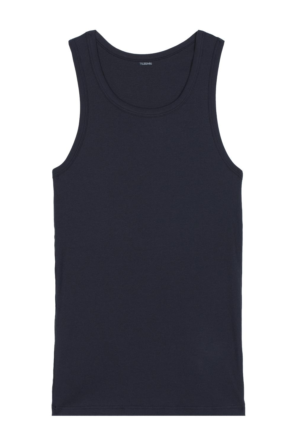Ribbed Cotton Vest Top