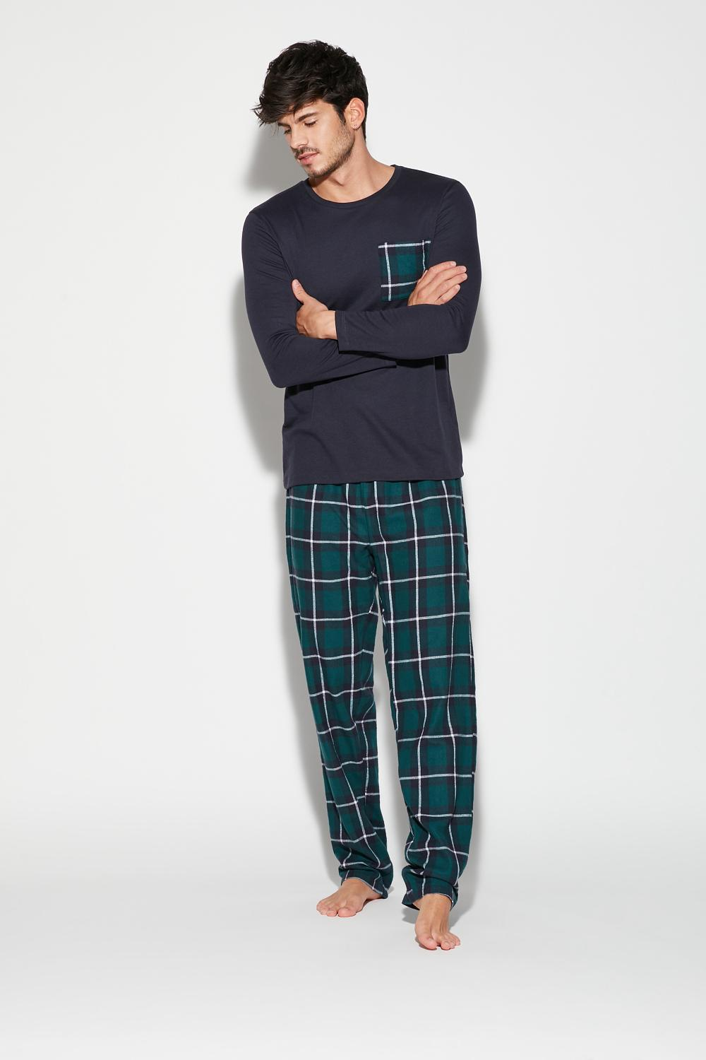 Long Check Pajamas