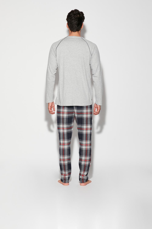 Long Alpha Male Print Pyjama