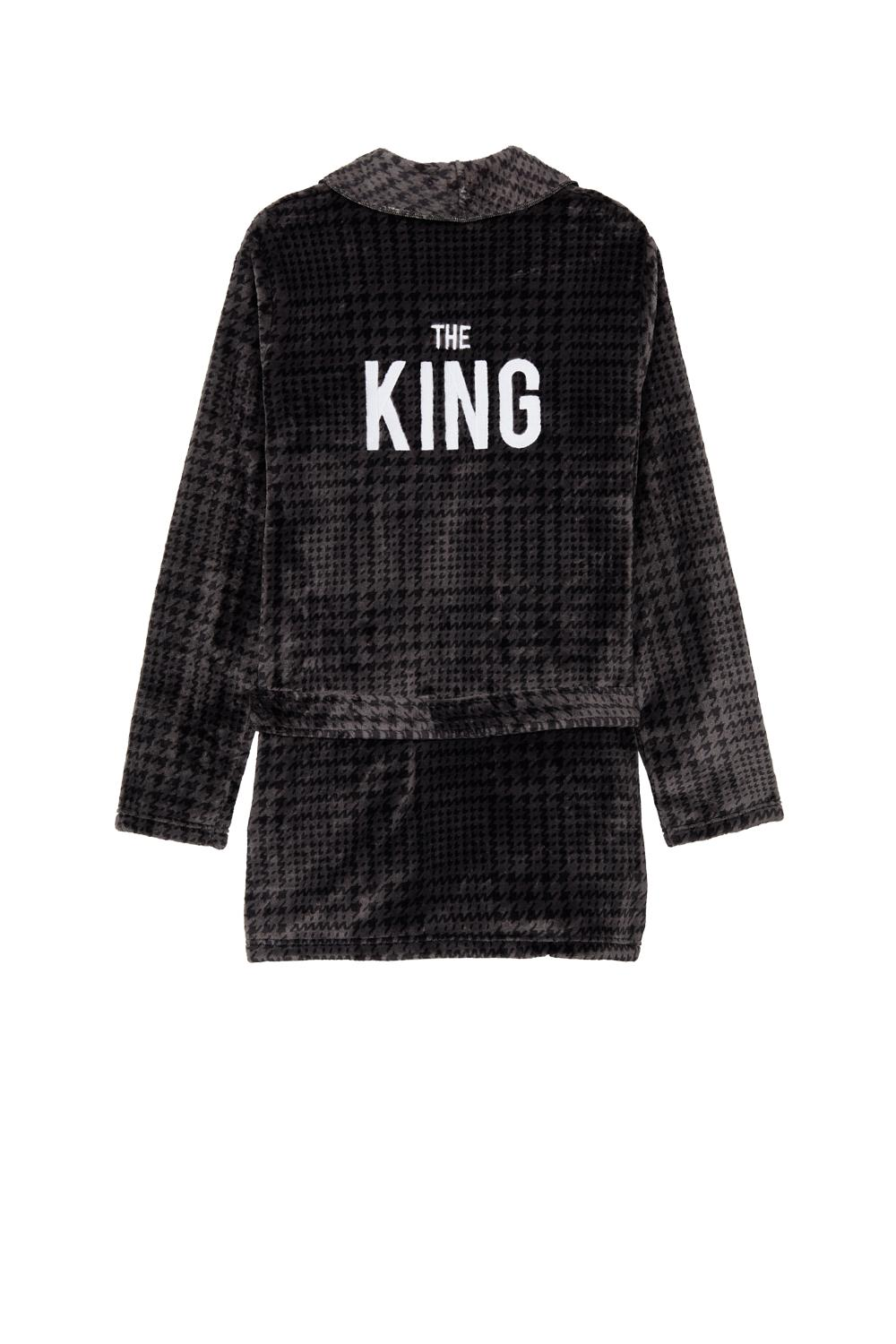 Dressing Gown With Lettering