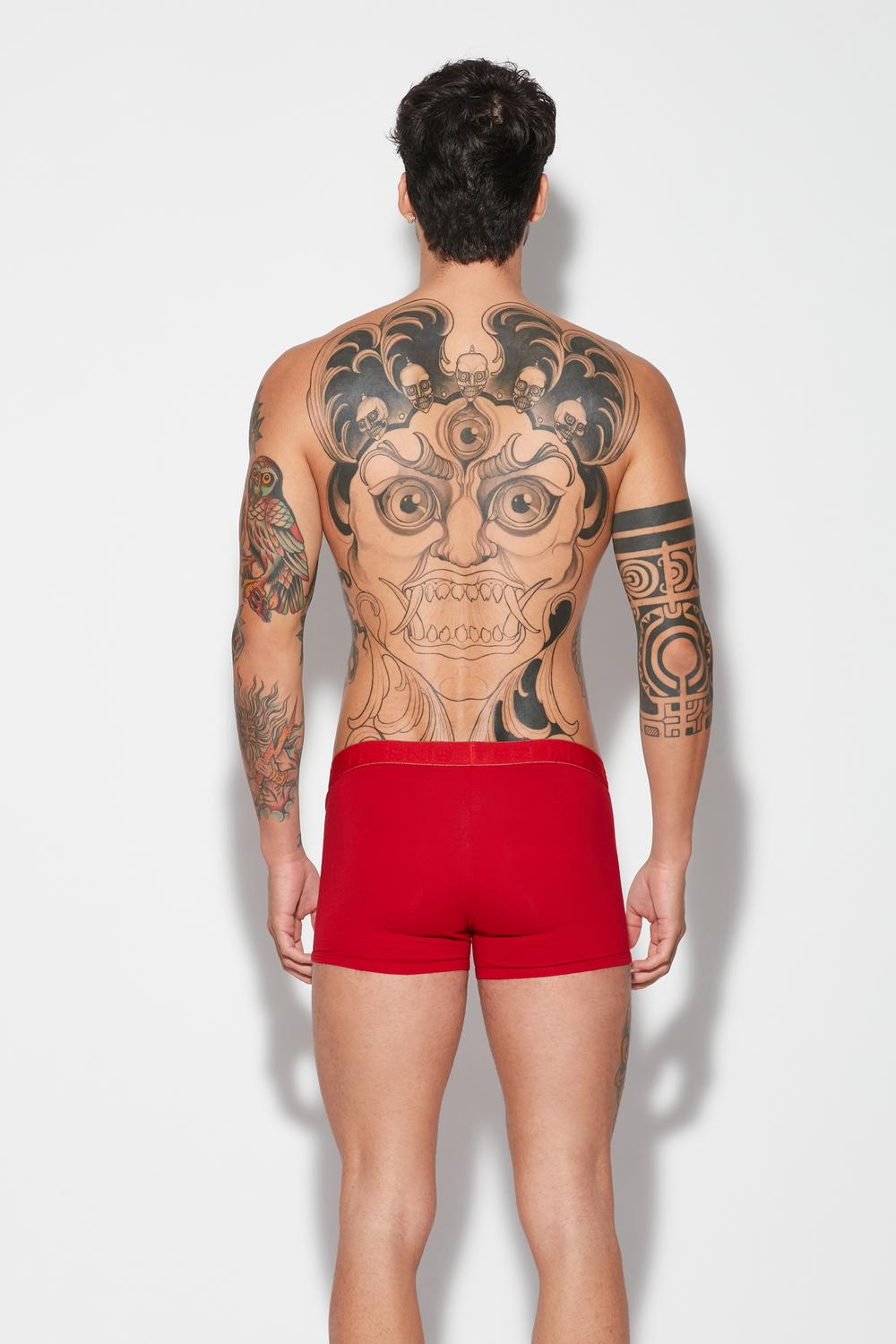 Contrast Waistband Boxers