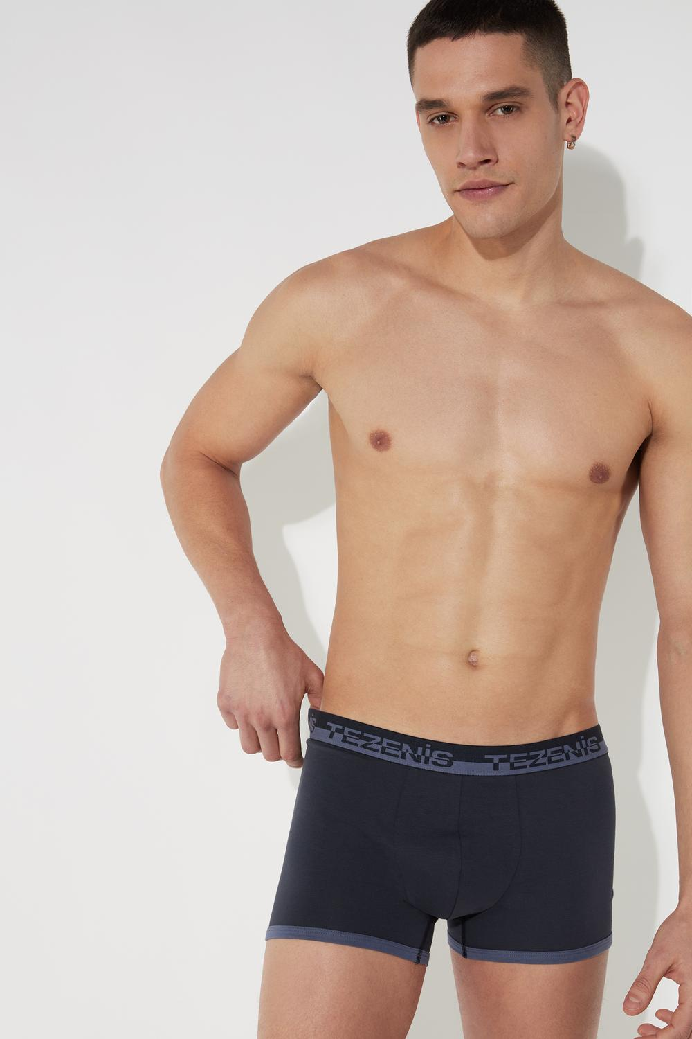Cotton Boxers with Logo Elastic Band