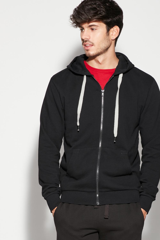 Basic Sweatshirt with Hood