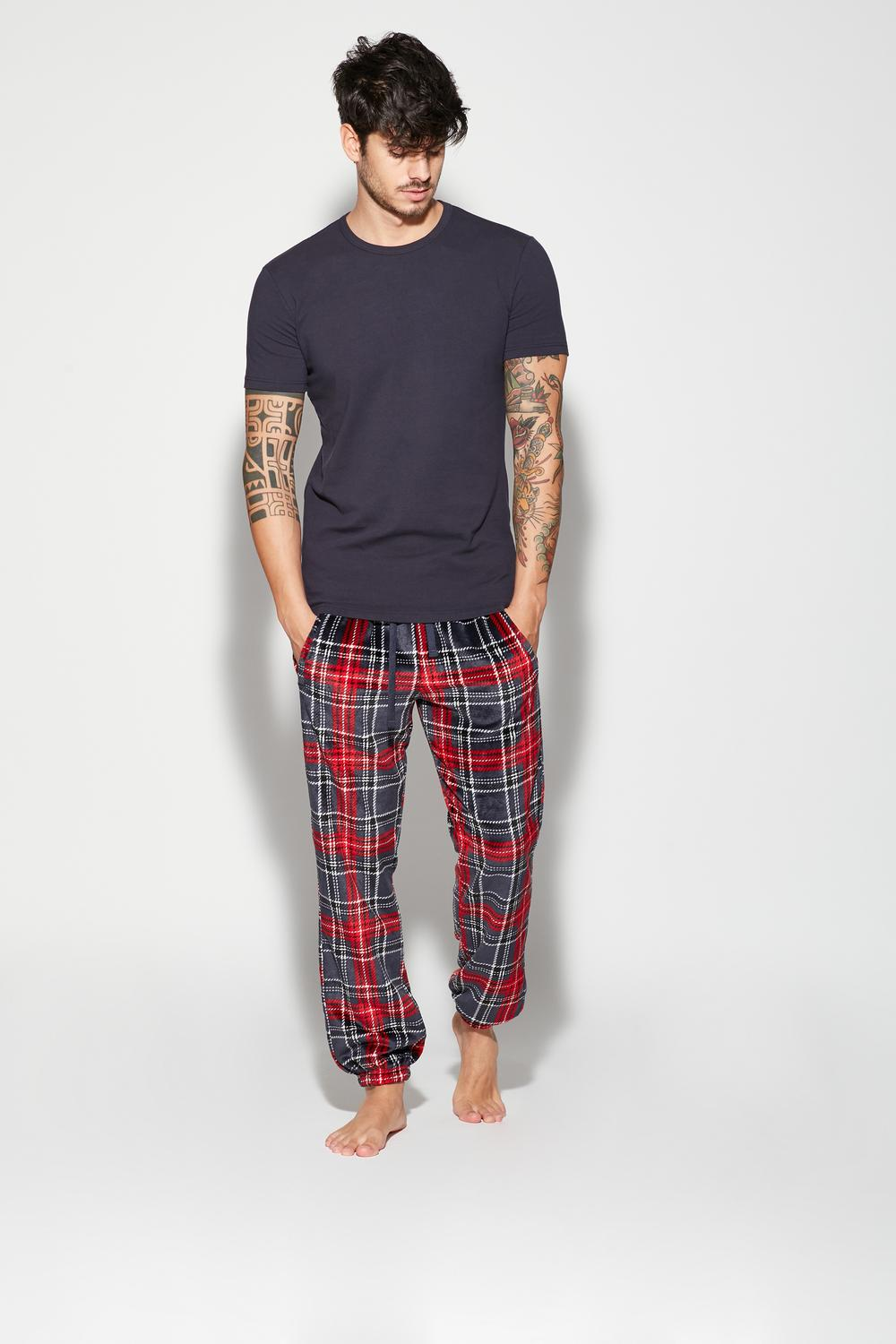 Long Pile Trousers