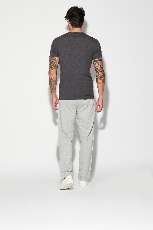 Long Piqué Trousers