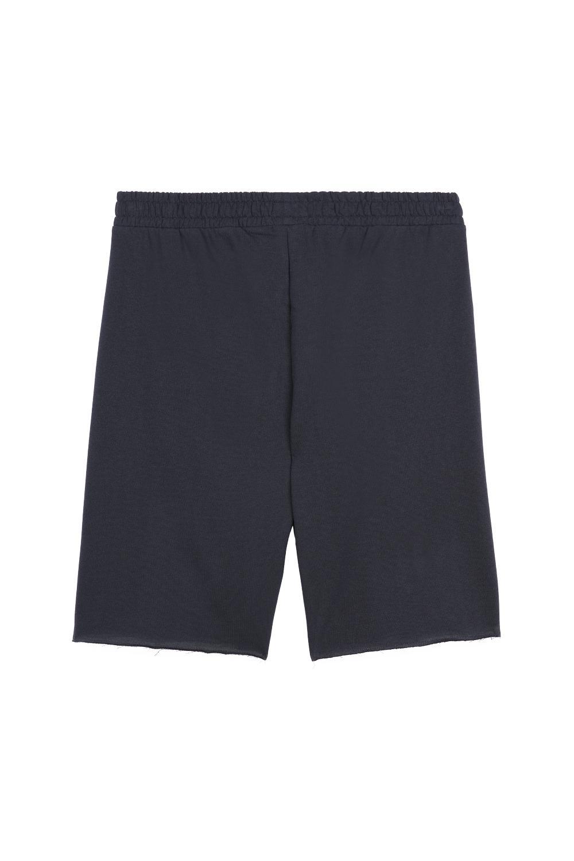 Raw-Edge Fleece Shorts