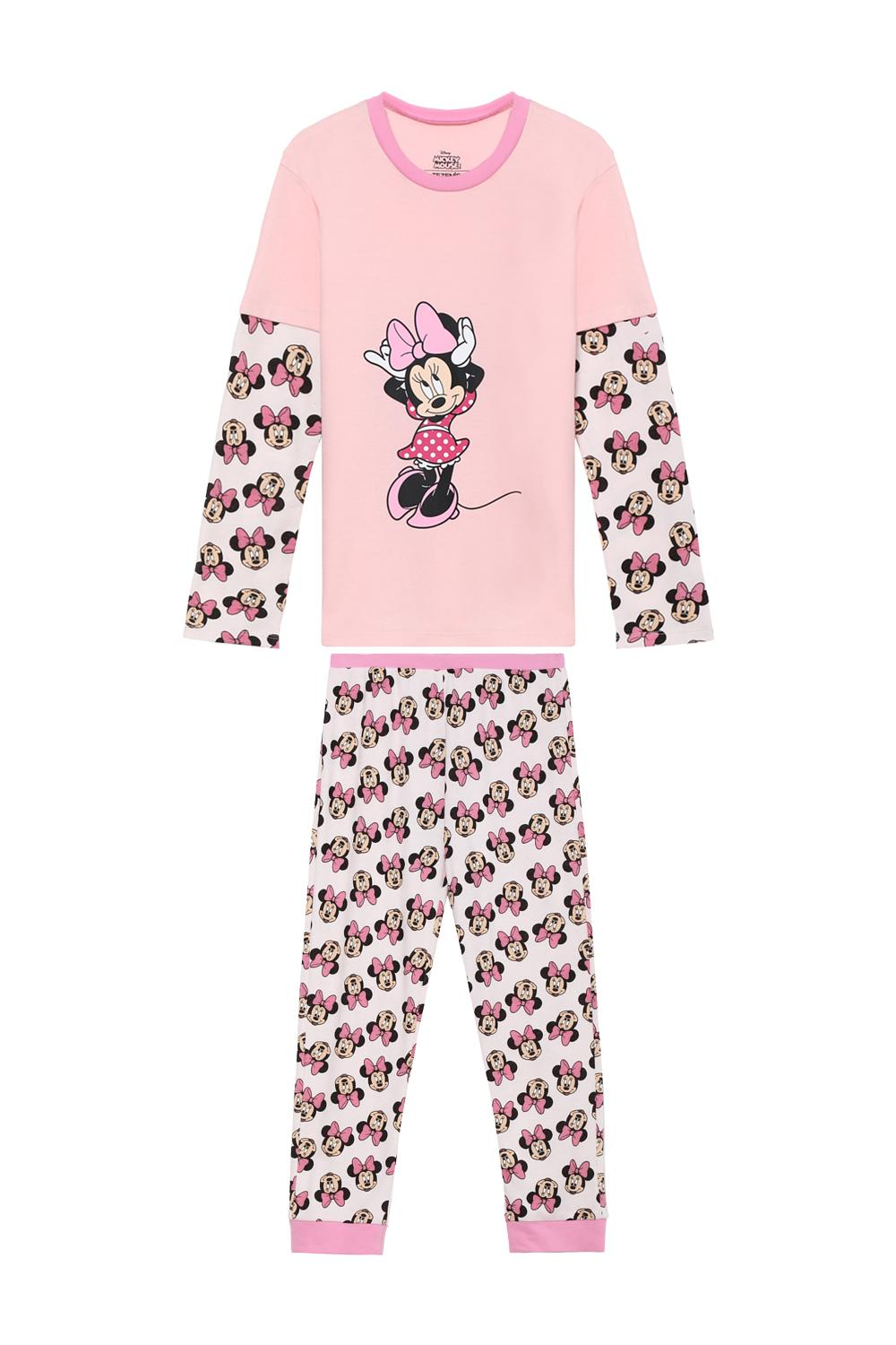 Pyjama Long Mickey Mouse Minnie