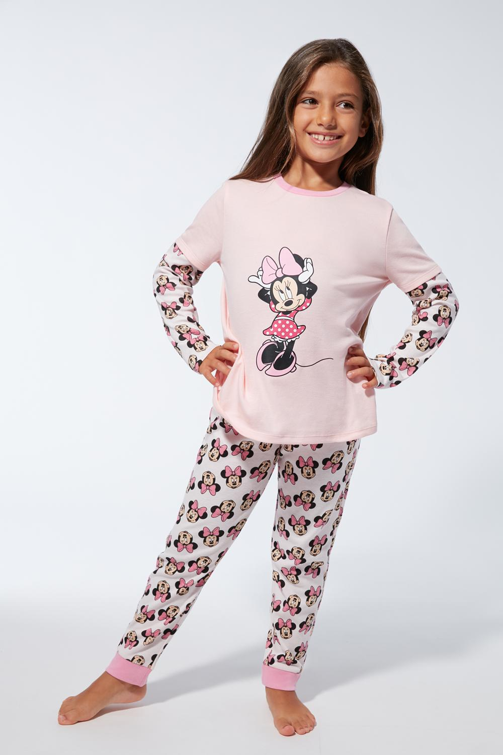 Long Mickey and Minnie Mouse Pyjamas
