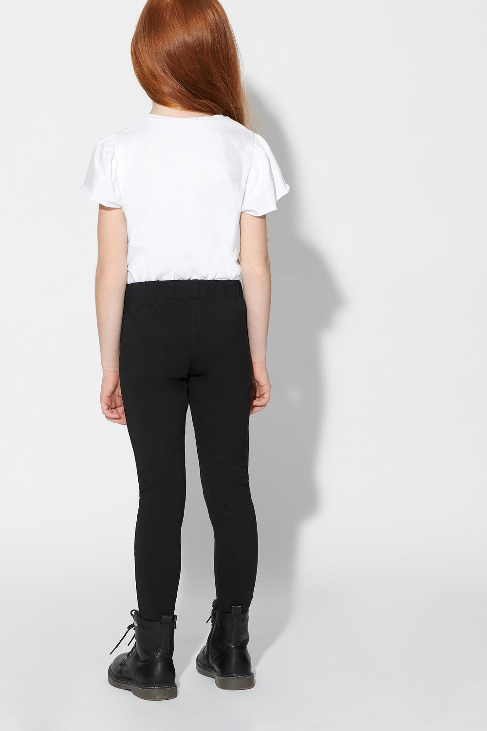 Leggings aus Stretch-Baumwolle