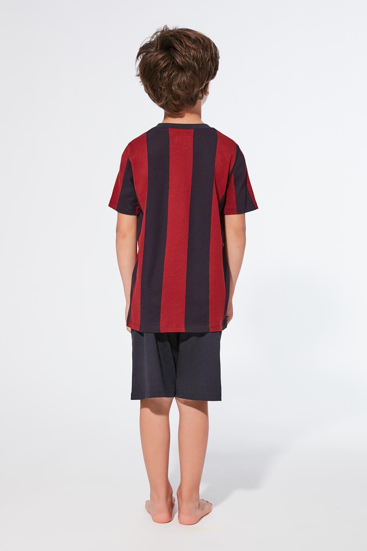 3d52a63d66290 Skrátené pyžamo futbalový dres - Tezenis