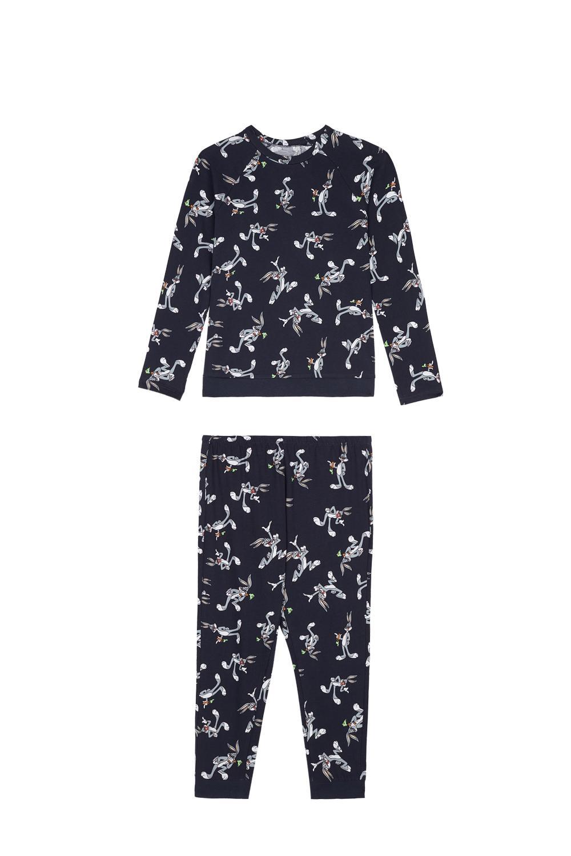 Dlhé Pyžamo s Celoplošnou Potlačou Bugs Bunny