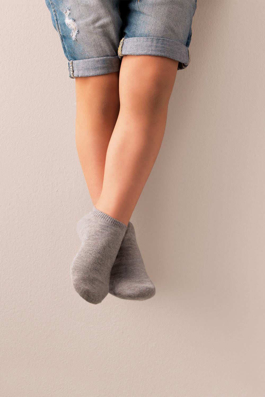5 X Low Cut Cotton Socks