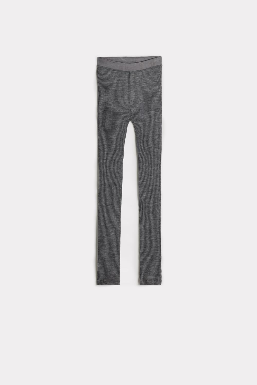Wool and Silk Leggings