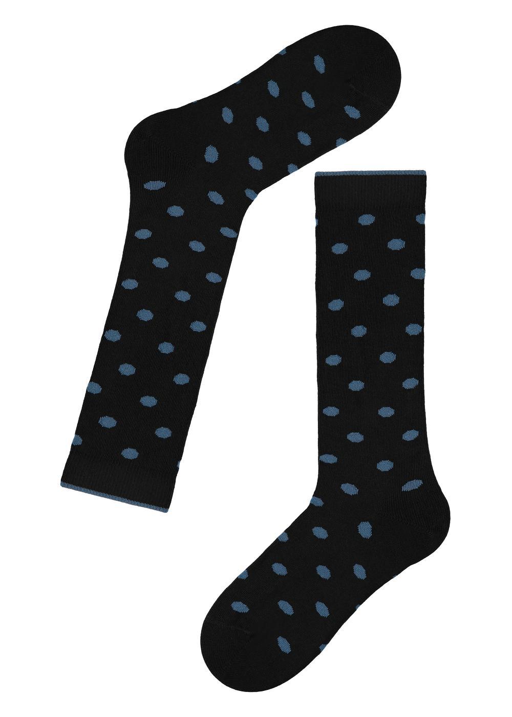 Chaussettes Longues Enfant en Coton à Motif
